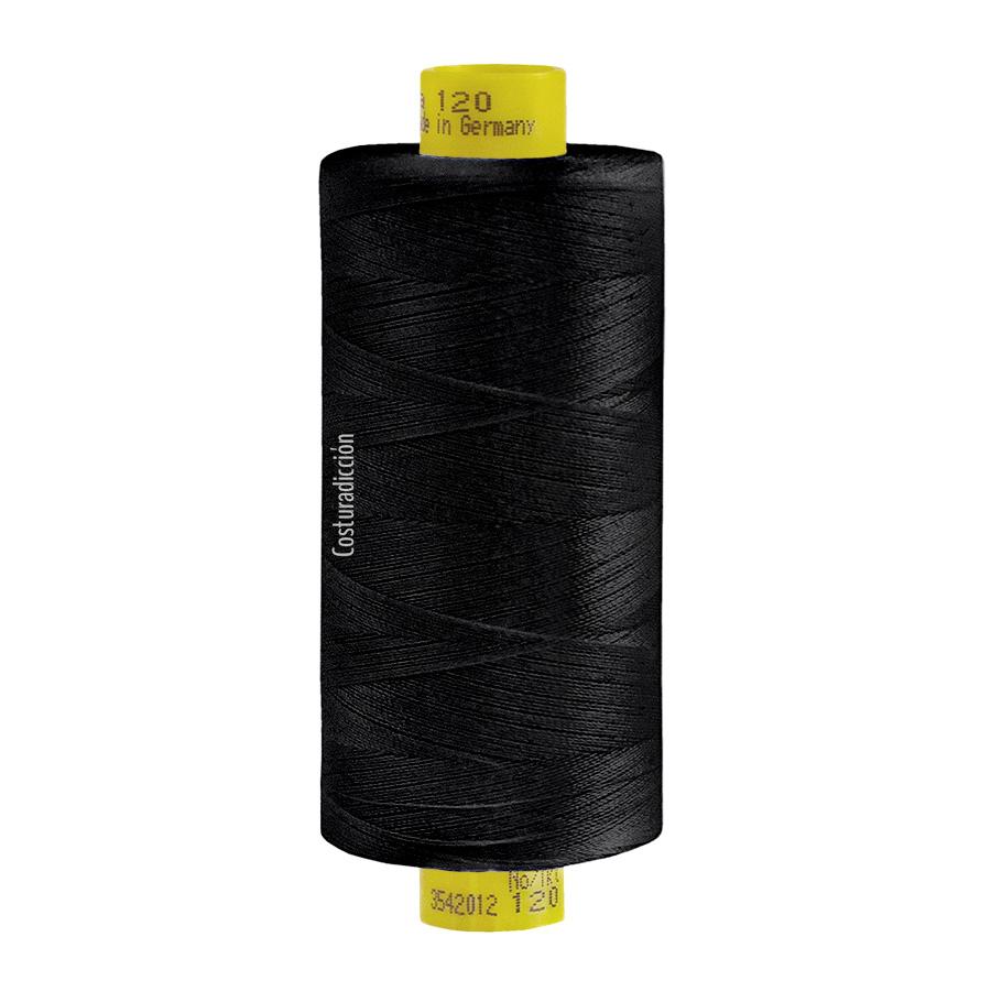 Imagen del producto: Hilo Gütermann Mara 120, 1000 m - color 000 negro