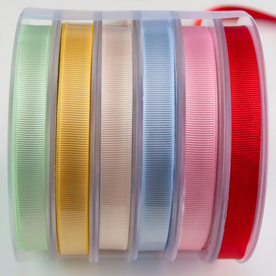 Imagen del producto: Gros grain fino verde menta - 1 m