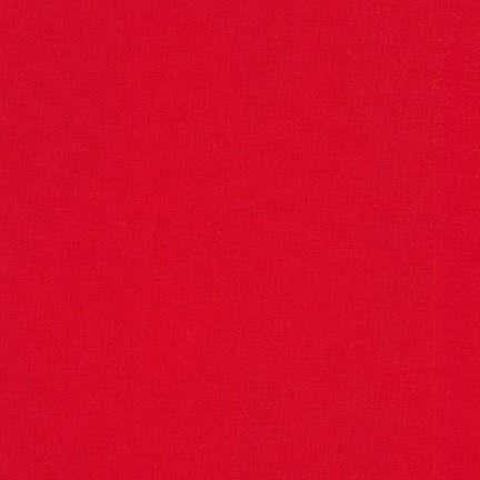 Imagen del producto: Tela Kona de Robert Kaufman 1308 red  - medio metro