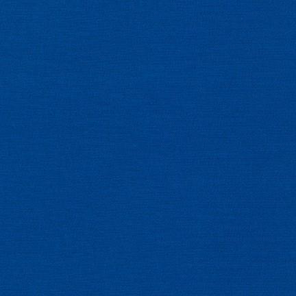 Imagen del producto: Tela Kona de Robert Kaufman 1314 royal  - medio metro