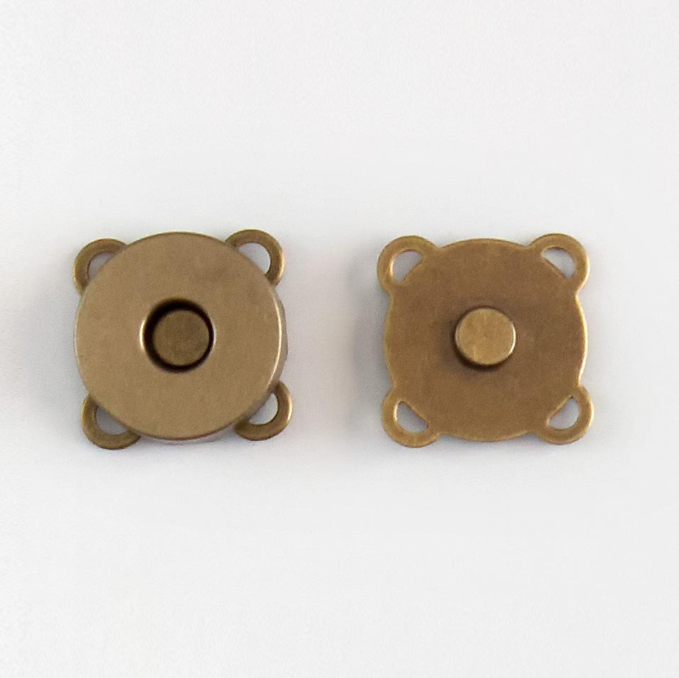 Imagen del producto: Cierre magnético 18 cm bronce