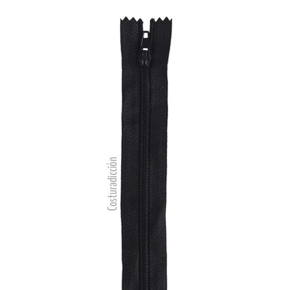 Imagen del producto: Cremallera negra de 30 cm
