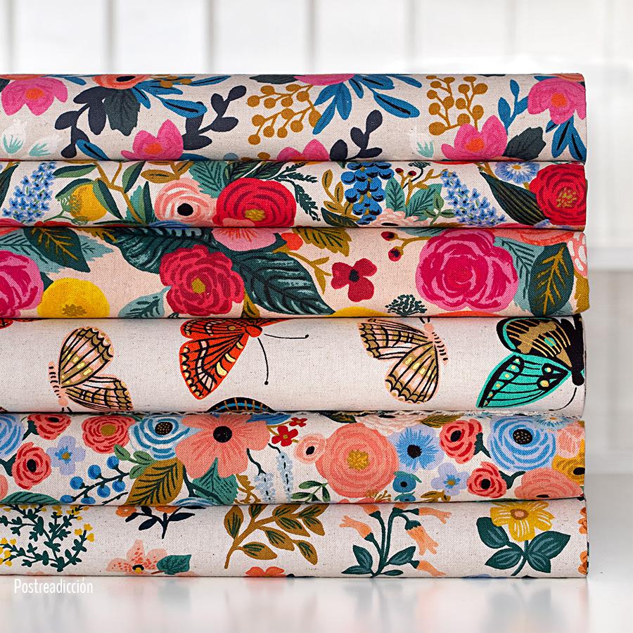 Imagen de producto: https://tienda.costuradiccion.com/img/articulos/secundarias13478-tela-rifle-paper-les-fleurs-rosa-floral-loneta-crudo-media-yarda-12.jpg