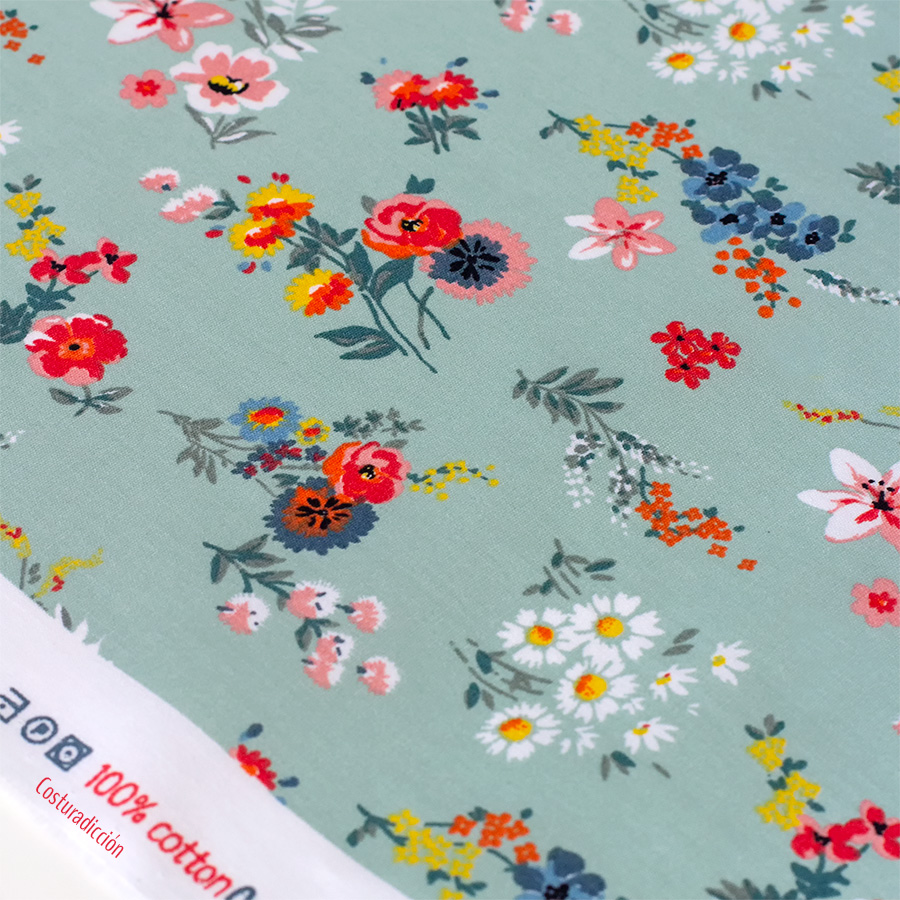 Imagen de producto: https://tienda.costuradiccion.com/img/articulos/secundarias14294-tela-poppy-bouquet-flores-verde-algodon-medio-metro-1.jpg