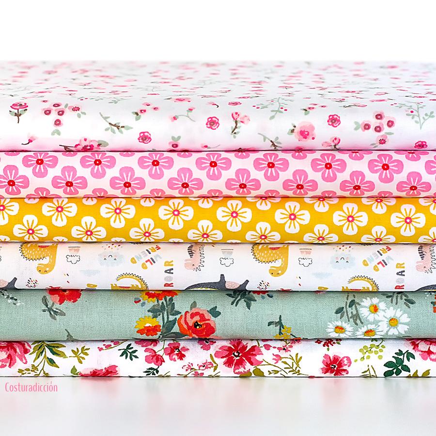 Imagen de producto: https://tienda.costuradiccion.com/img/articulos/secundarias14294-tela-poppy-bouquet-flores-verde-algodon-medio-metro-2.jpg