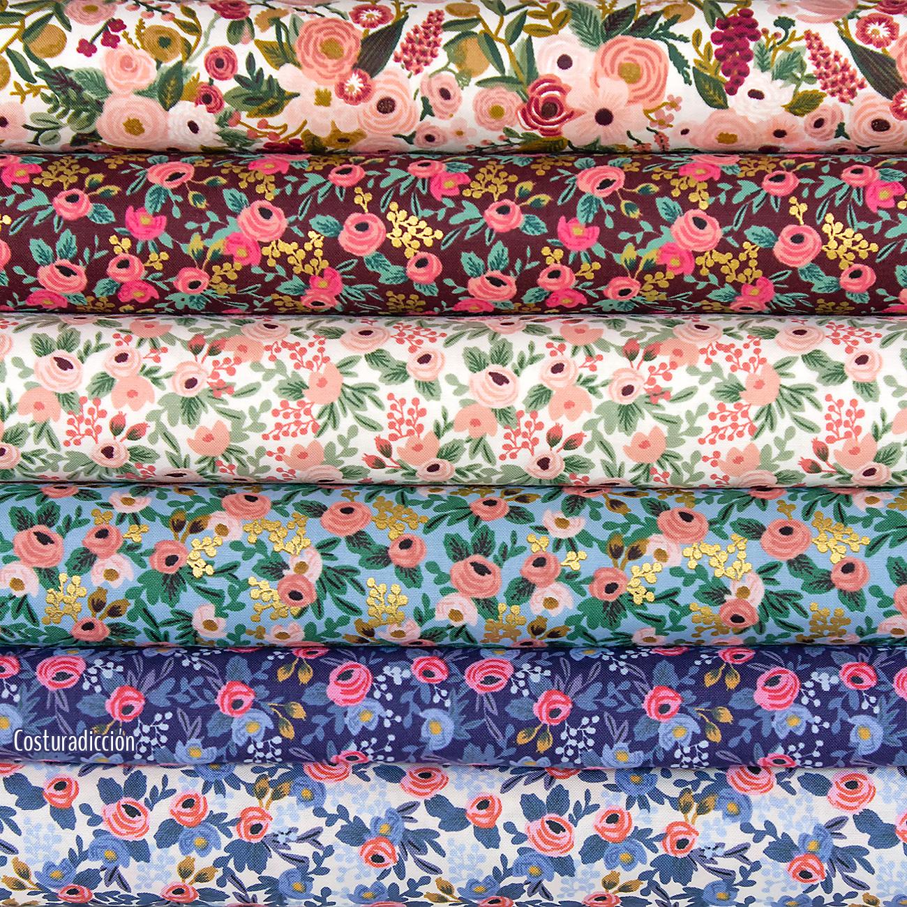 Imagen de producto: https://tienda.costuradiccion.com/img/articulos/secundarias14535-tela-rifle-paper-garden-party-rosa-con-metalizado-algodon-medio-metro-5.jpg
